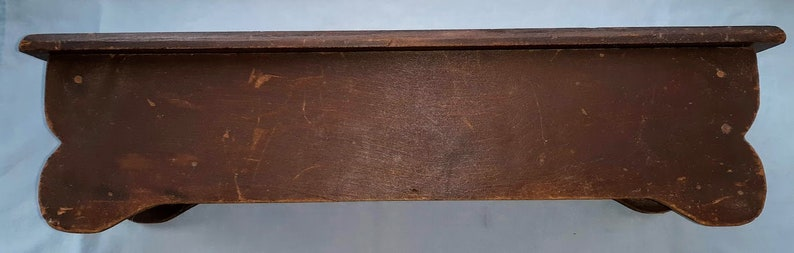 With Inlaid Border Vintage Handmade Wooden Box