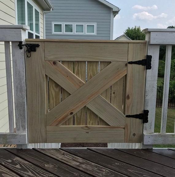 Barn Door Baby Pet Gate Outdoor, Outdoor Pet Gate For Porch