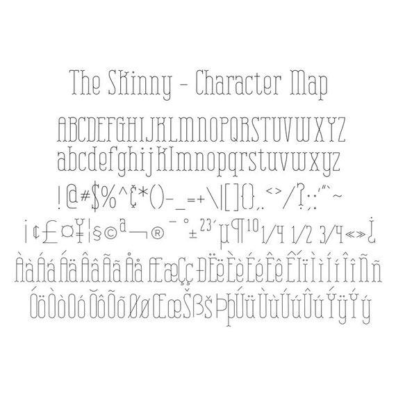 Foil Quill Font Digital TTF Font Engraving Font Sketch Pen Font Bonbon Thin Line Fonts for Silhouette Single Line Font Pen Font