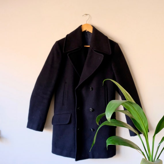 Perfect Vintage U.S. Navy Officer Peacoat