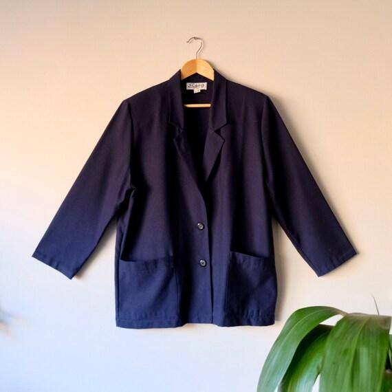 Vintage Oversized Blazer by Sanro Melbourne