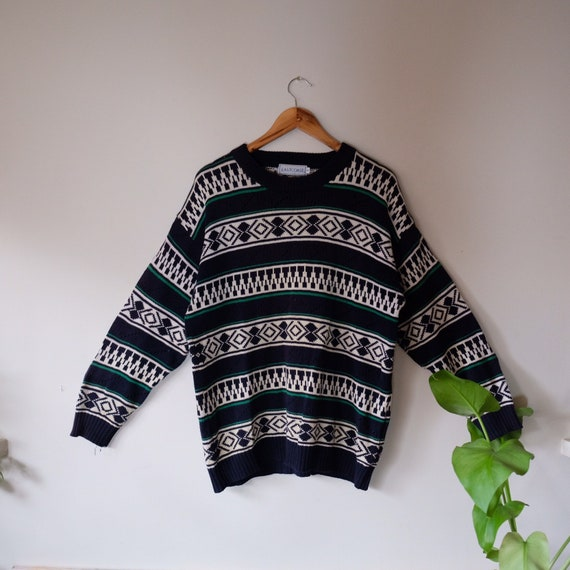 Fair Isle Crochet Jumper by Eastcoast