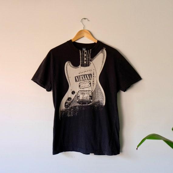 Vintage Overprint Nirvana T-shirt