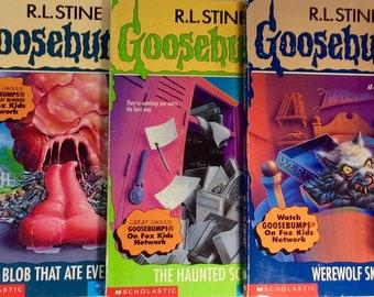 Your choice! Goosebumps R.L. Stine 1990s horror Scholastic original series