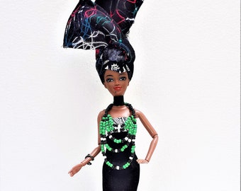 Black Doll - Shikanda Starr -  Xhosa Princess