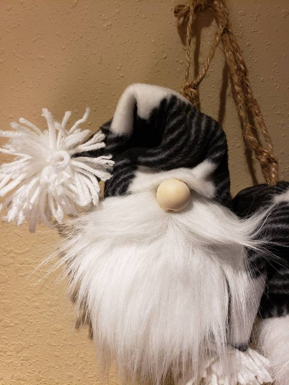 Rustic Gnome Ornament