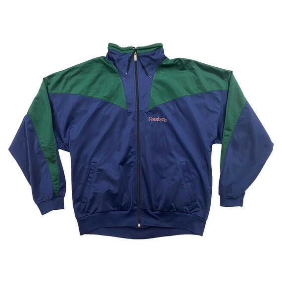 Reebok Soft Shell Jacket | Vintage 90s Retro Track