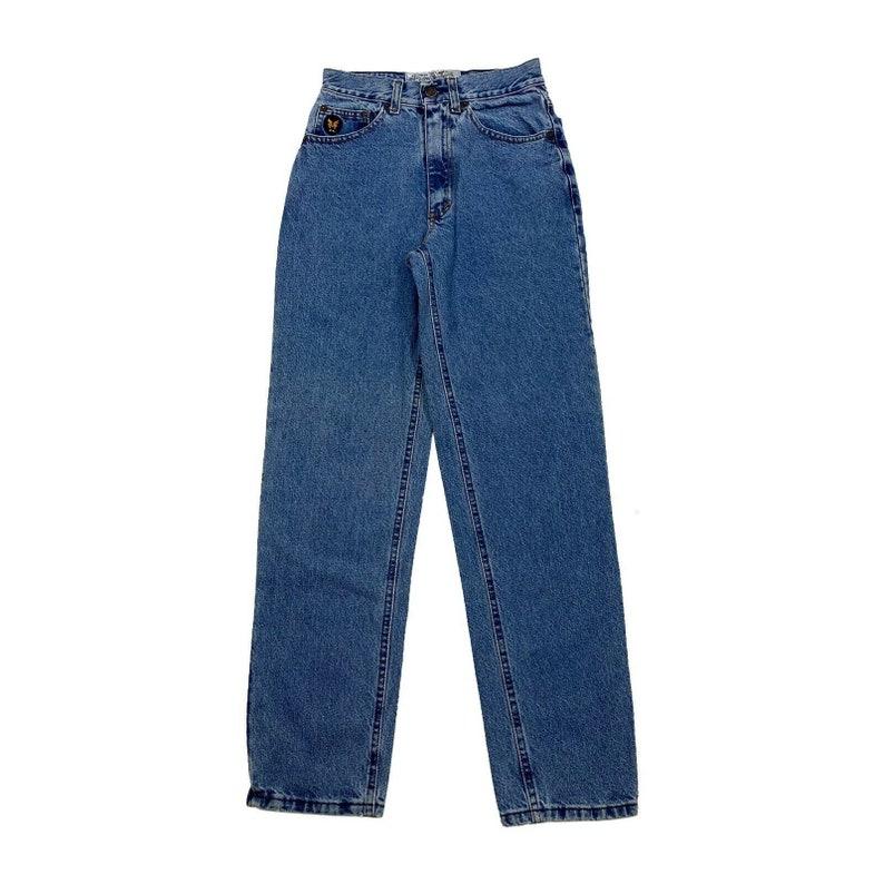 Avirex USA Womens Jeans Vintage 90s Retro Military Apparel Denim Trousers VTG
