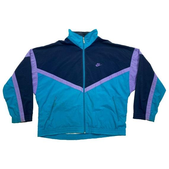 Nike Tracksuit Top Jacket | Vintage 80s Retro Spor