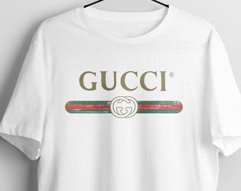 0bc046ebd Gucci Shirt, Gucci T-shirt, Gucci Inspired T-shirt, Cucci T-shirt Gucci  Vintage shirt,Hypebeast Designer Gucci Belt Logo Shirt