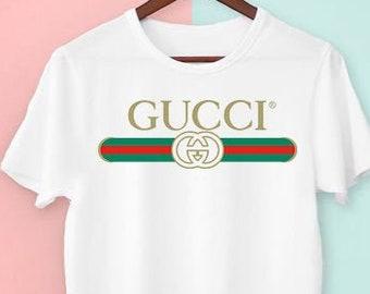 6e4a374c Gucci Shirt, Gucci T-shirt, Gucci Inspired T-shirt, Cucci T-shirt Gucci  Vintage shirt,Hypebeast Designer Gucci Belt Logo Shirt