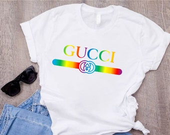 77ebd10d Gucci colors Shirt, Gucci T-shirt, Gucci Inspired T-shirt, Cucci T-shirt  Gucci Vintage shirt,Hypebeast Designer Gucci Belt Logo Shirt