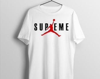c84411bf7d07 Supreme Jordan Unisex t shirt women t-shirt Air Jordan supreme Unisex shirt  Gift For women t shirt