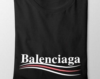 6277b5457 Balenciaga Paris Famous Logo Style T-Shirt ,Unisex Balenciaga Tshirt ,Shirt  BLNAGA fashion tee
