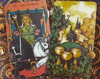 Items similar to True Love Tarot Card Reading, Tarot Card Reading