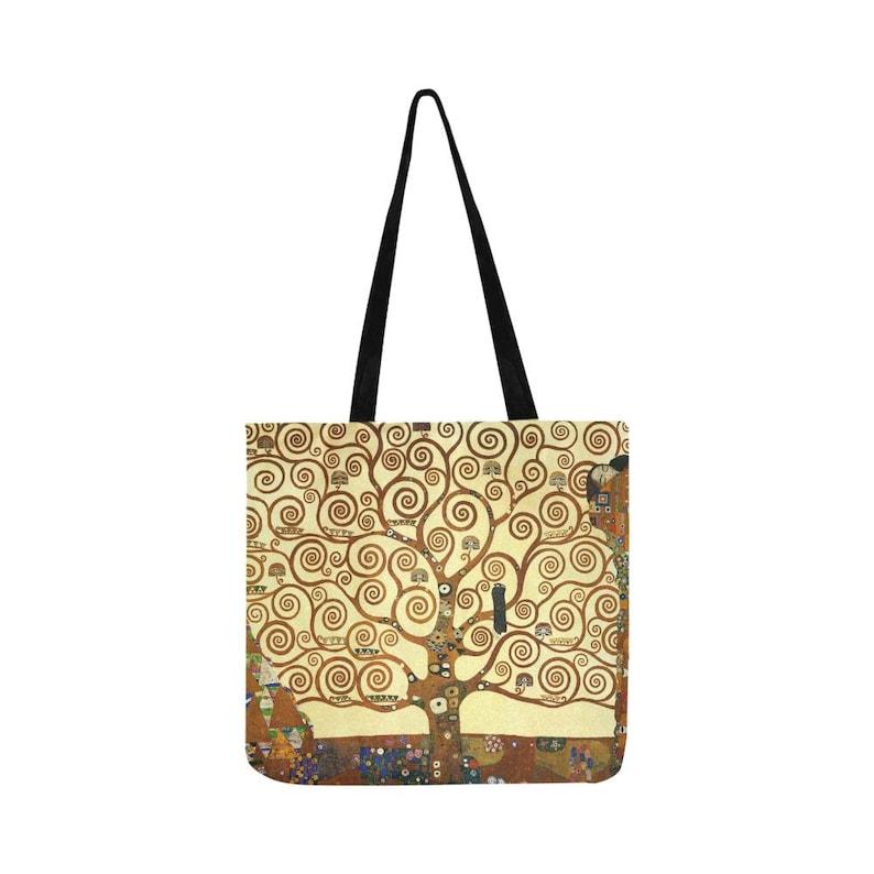Gustav Klimt Tree of Life Tote Shopping Bag For Life   eBay
