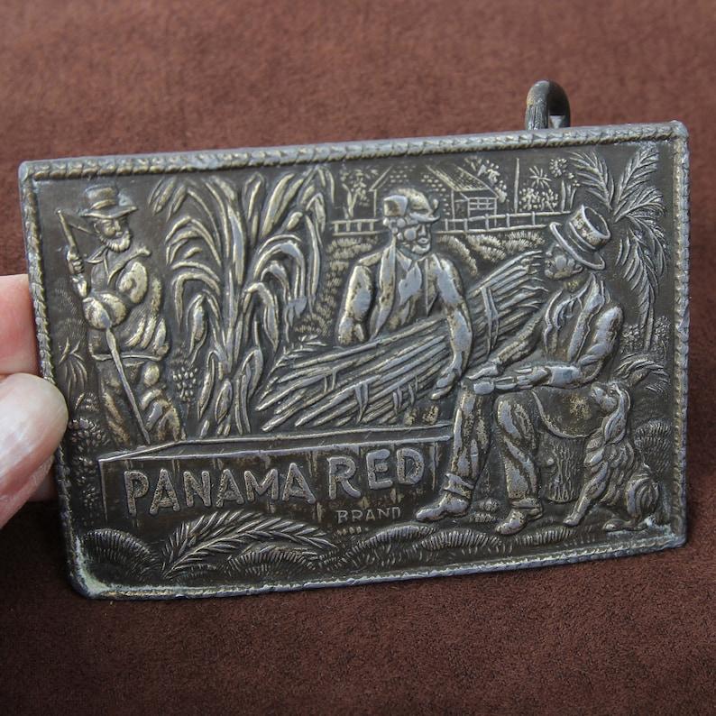 Men/'s Belt Buckle *Read Listing* Panama Red Belt Buckle Western Belt Buckle