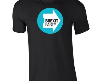 cc41d563 The Brexit Party T Shirt EU European Elections 2019 UK Nigel Farage Fan  Leave Means Leave No Deal Summer Birthday Gift Kids Children Tee Top