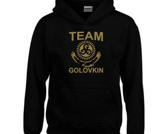 017b6f23f8a Team Golovkin Hoodie Gennady Golovkin GGG Fans Boxing MMA UFC wwe Gym  Exercise Workout Lovers Summer Birthday Gift Men Sweatshirt Jumper Top