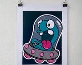 """Artprint """"Honk"""""""