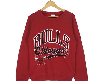 fec57c05d Vintage 90s Chicago Bulls Basketball Snoopy Crewneck Sweatshirt Big Logo  Made In Usa Pullover Jumper Size M