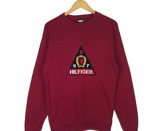 90s tommy hilfiger sweatshirt | Etsy