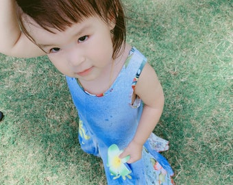 9fa5be056ba34 Crazy Fish Dreamy Blue Dress