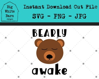Bearly Awake Mug Etsy