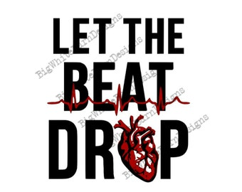 Let the beat drop | Etsy