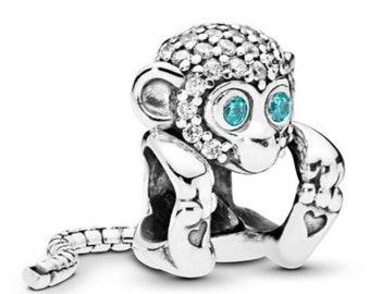 charm pandora scimmia