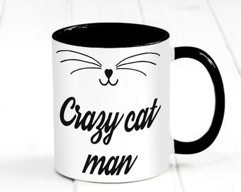 Gift for Fur Mom Dad Lady Women Men Funny Cat Coffee Mug Animal Pet Kitty Lover Cup