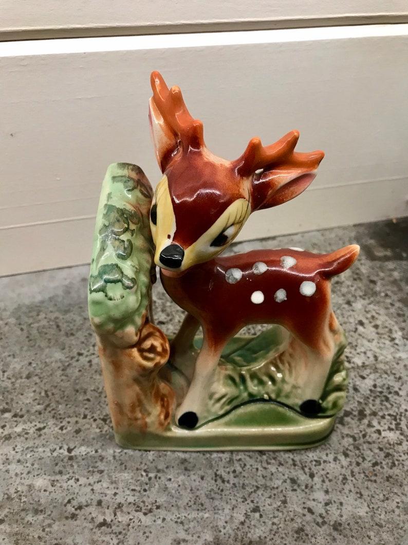 Vintage 1950/'s Bambi Deer Bookend