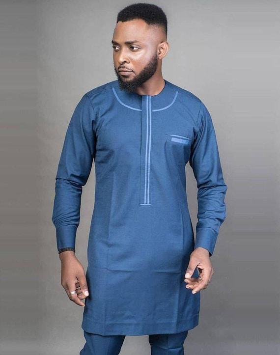 African men/'s clothing  African fashion wedding suitdashiki  African men/'s shirt v\u00eatement africain chemise et pantalon Ankara styles