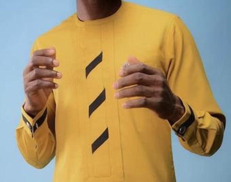 African Senator African men/'s suit,Dashiki for men,Men Caftan,African Groom,Yellow African African men/'s outfit African men/'s clothing