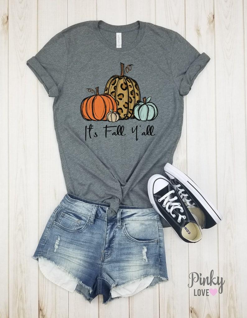 cheetah. womens thanksgiving shirt unisex shirt It/'s fall y/'all leopard pumpkin fall pumpkin shirt pumpkin shirt pumpkin shirts