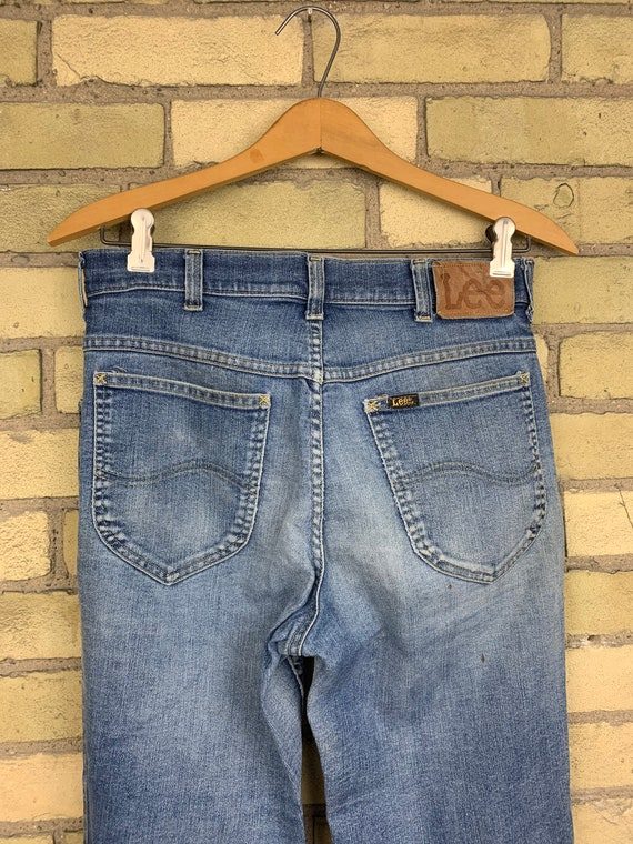 "Vintage 70s Lee Flared "" Bell Bottom"" Style Jeans"