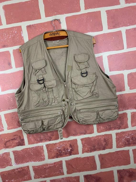 Vintage 90s Tactical Fishing Vest