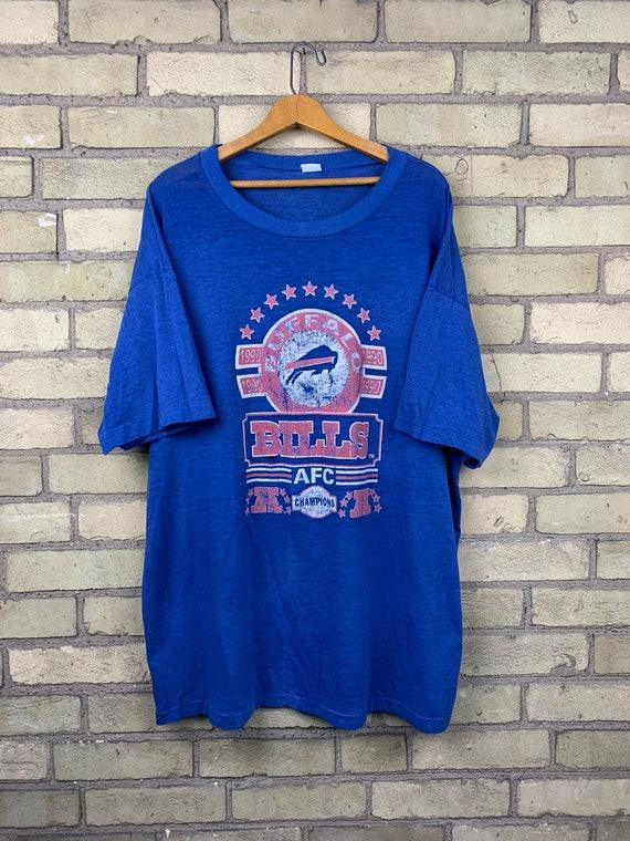 Vintage 90s Buffalo Bills AFC Champions T-Shirt