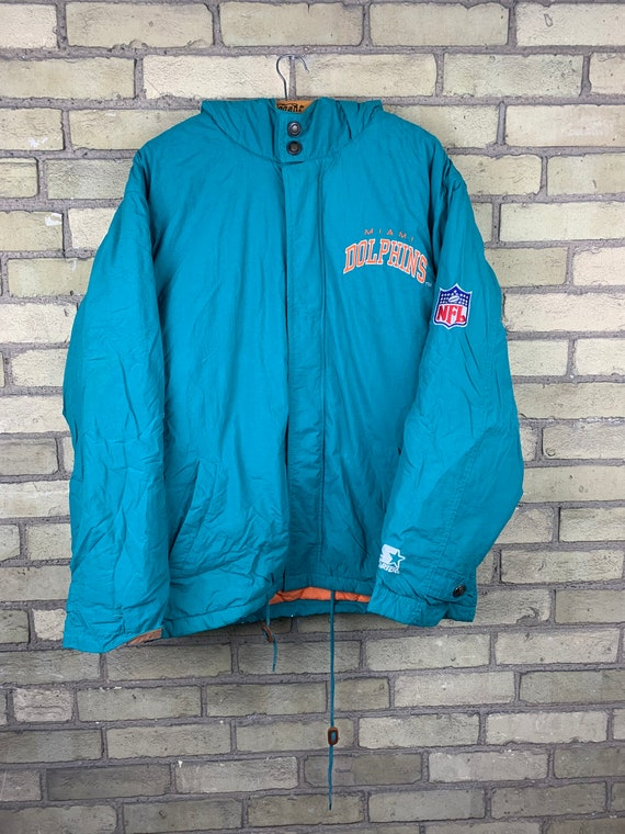 Vintage 90s Miami Dolphins NFL Football Starter Ja
