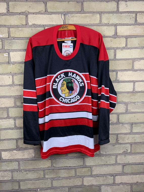 Vintage 1991-1992 Chicago Blackhawks 75th Annivers