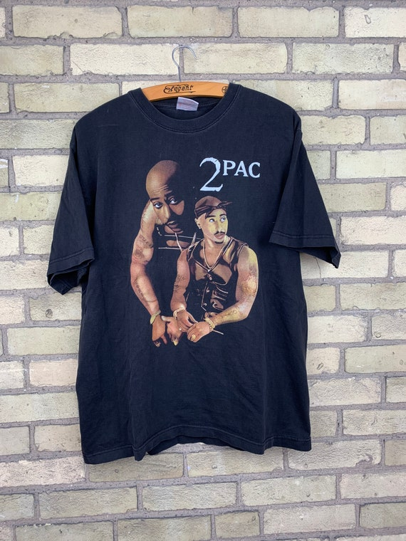 Vintage Tupac Shakur Rap Tee Double Sided T-Shirt