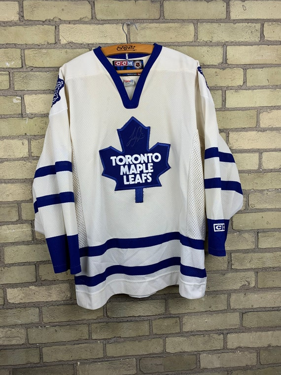 Vintage 1990s Toronto Maple Leafs White Home Jerse