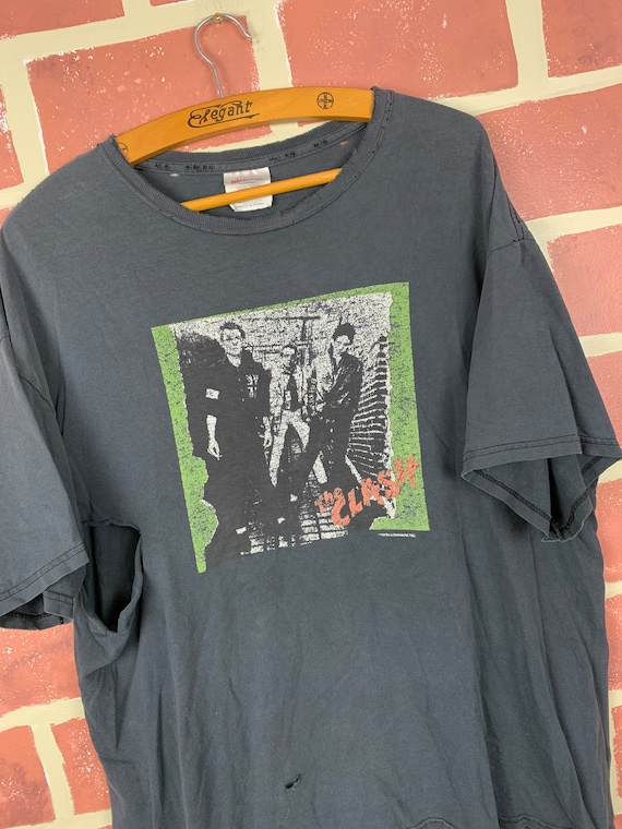 Vintage 90s The Clash Distressed T-Shirt