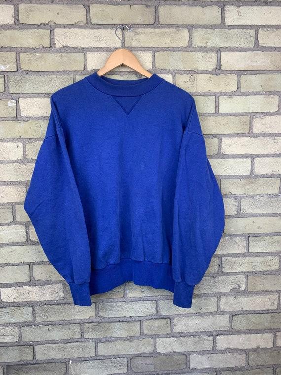 Vintage 80s Champion Blue Crewneck Sweater