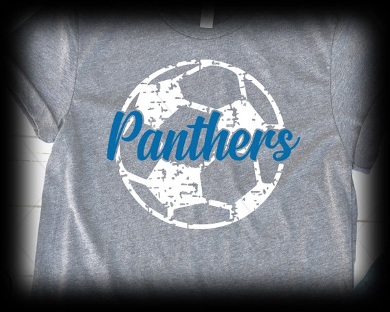 Panthers Distressed SVG Files