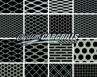 """CCG Universal Grille Mesh Big Sample Pack ( 3""""x3"""" ) 16 pieces"""