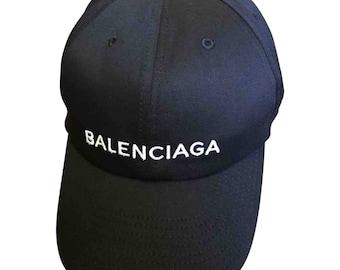 26edf2e9cd088 Balenciaga Logo-Embroidered Baseball Cap