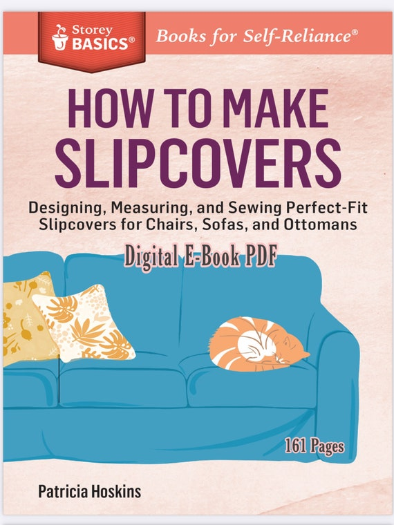 Digital E-Book PDF How to Make Slipcovers DIY Projects