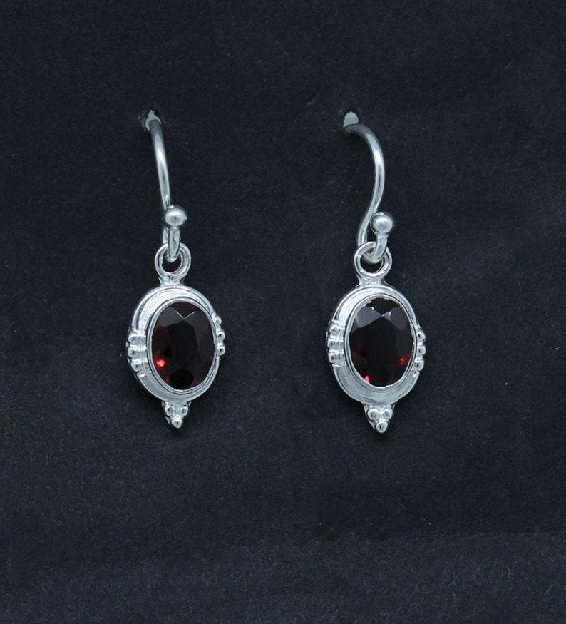Green Peridot Oval Sterling Silver Designer Earring Jewelry