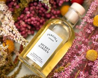 Diffuser Reed - Secret Garden - Scented Diffuser - Natural Diffuser - Vegan Diffuser -  Dried Flowers